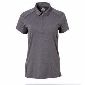 Slazenger Polo Golf Top 1/4 zip Gray size M